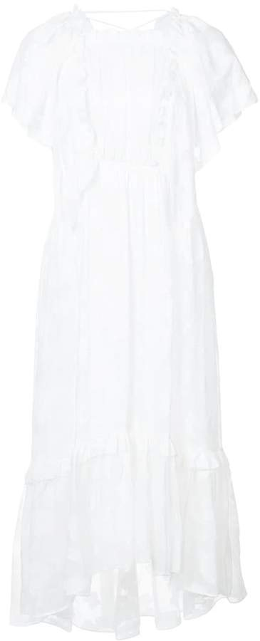Ulla Johnson Mildred floral lace dress