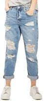 Topshop Women's Hayden Super Ripped Boyfriend Jeans