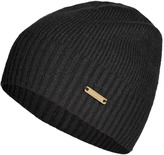 Burberry Shoes & Accessories Cashmere Fisherman Rib Hat in Black