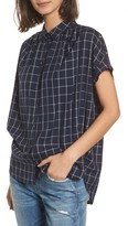 Madewell Women's Central Windowpane Check Shirt