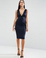 AX Paris V Front And Back Midi Dress