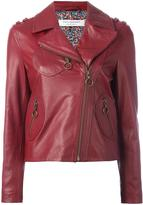 Philosophy Di Lorenzo Serafini zipped biker jacket