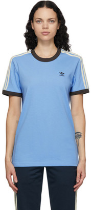 Wales Bonner Blue adidas Originals Edition Logo T-Shirt