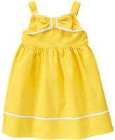Gymboree Bow Diamond Pique Dress
