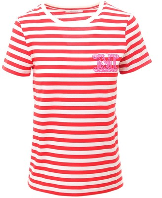 Max Mara Crewneck Striped T-Shirt