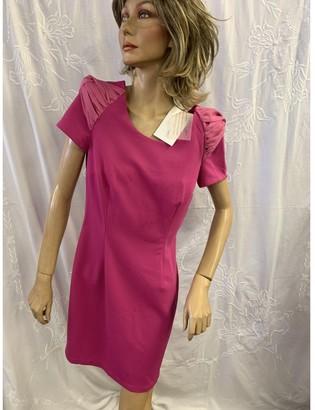 Lungta de Fancy Pink Dress for Women