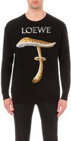 Loewe Mushroom intarsia merino wool jumper