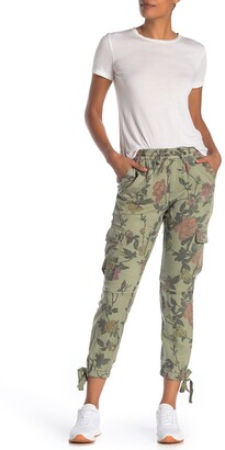 Pam And Gela Floral Print Cargo Pants