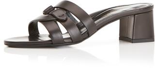 Marion Parke Billie Leather Mule Sandals