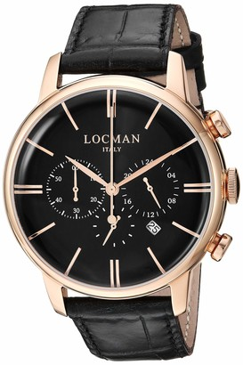 Locman Italy Women's 1960 Collection Stainless Steel Quartz Watch with Nylon Strap