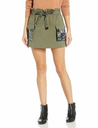 Ramy Brook Women's Chelsea Sequin Pocket Mini Skirt