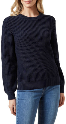 French Connection Crew Neck Cotton Knit