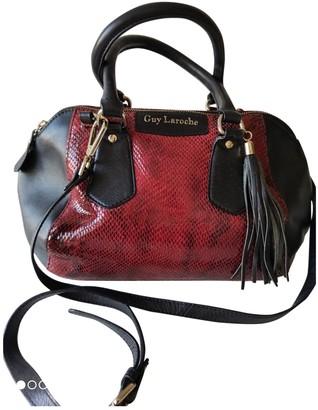 Guy Laroche Black Leather Handbags