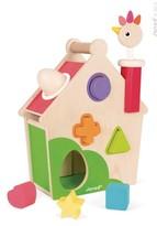 Janod Infant Wood Activity House