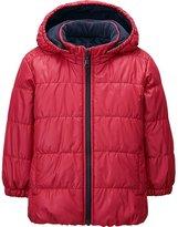 Uniqlo Toddler Body Warm Lite Long Sleeve Hooded Jacket