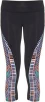 Mara Hoffman Voyager-print panel performance leggings