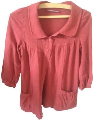 Comptoir des Cotonniers \N Red Cotton Jacket for Women