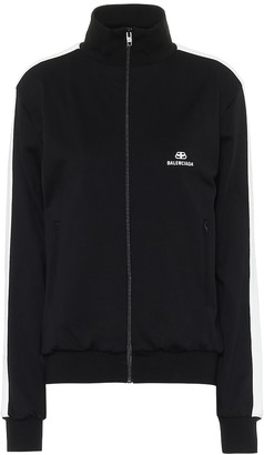 Balenciaga Technical-jersey track jacket