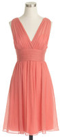 J.Crew Ava dress in silk chiffon
