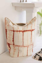 Urban Outfitters Peach Shibori Standing Laundry Bag Hamper