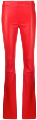 Drome flared style trousers