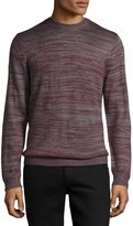 Wesc Amir Knit Wool-Blend Sweater, Plum