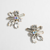J.Crew Factory Stone blossom earrings