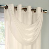 Thermavoile Rhapsody Lined Grommet Crescent Valance