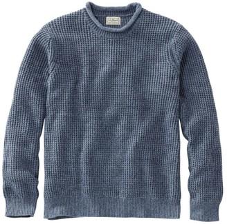 L.L. Bean Men's Bean's Organic Cotton Rollneck Crew Sweater