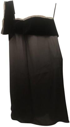 La Petit S***** Grey Silk Dress for Women
