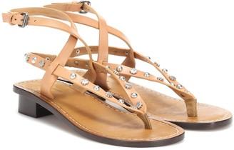 Isabel Marant Jings embellished leather sandals