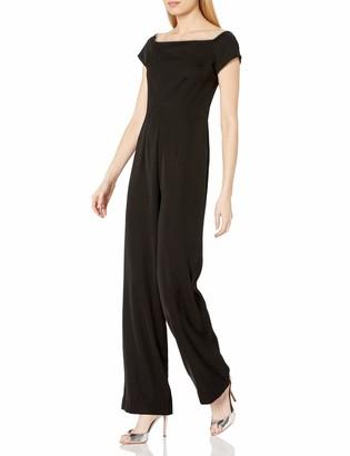 trina Trina Turk Women's Margot Embellished Off The Shoulder Jumpsuit