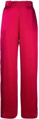 Michael Lo Sordo wide leg trousers