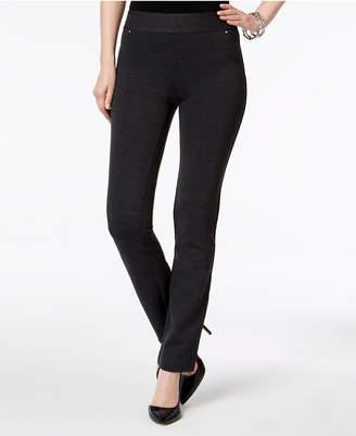 INC International Concepts Inc Pull-On Straight-Leg Pants