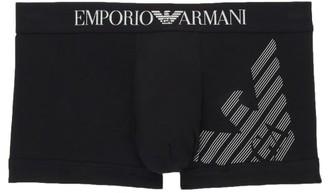 Emporio Armani Organic Cotton Mega Logo Eagle Trunk