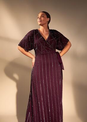 Phase Eight Electra Beaded Maxi Dress