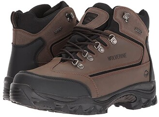 Wolverine Spencer Waterproof Hiking Boot (Brown/Black) Men's Hiking Boots