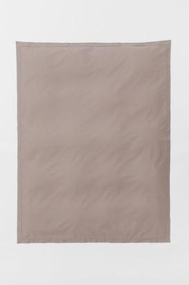 H&M Jacquard-weave Duvet Cover - Brown