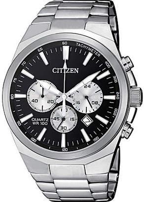 Citizen Quartz Mens Silver Tone Stainless Steel Bracelet Watch-An8170-59e Family