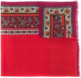Etro Patterened Lightweight Scarf