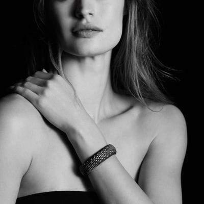 David Yurman Tempo Bracelet With Diamonds, 20Mm