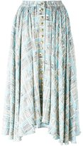 Olympia Le-Tan printed full skirt - women - Acetate/Viscose - 36