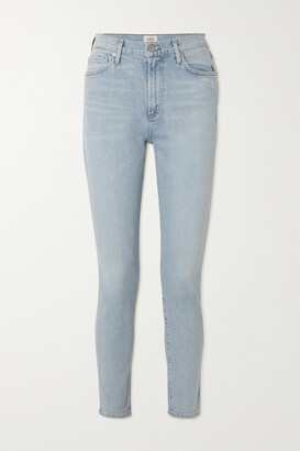 Citizens of Humanity - + Net Sustain Olivia Organic High-rise Slim-leg Jeans - Blue