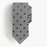 J.Crew Drake's® silk tie in dotted houndstooth