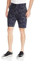 French Connection Men's Lawson Marble Printed Short