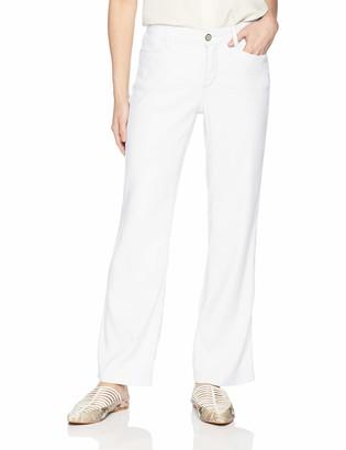 NYDJ Women's Petite Linen Trouser