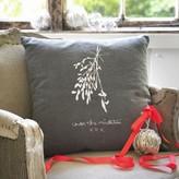 Graham and Green Mistletoe Cushion