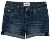Hudson Girls' Cuffed Denim Shorts - Sizes 7-16