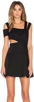 BCBGMAXAZRIA Strappy Mini Dress