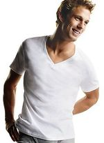 Hanes Men's TAGLESS V-Neck Undershirt 5-Pack Men's Shirts